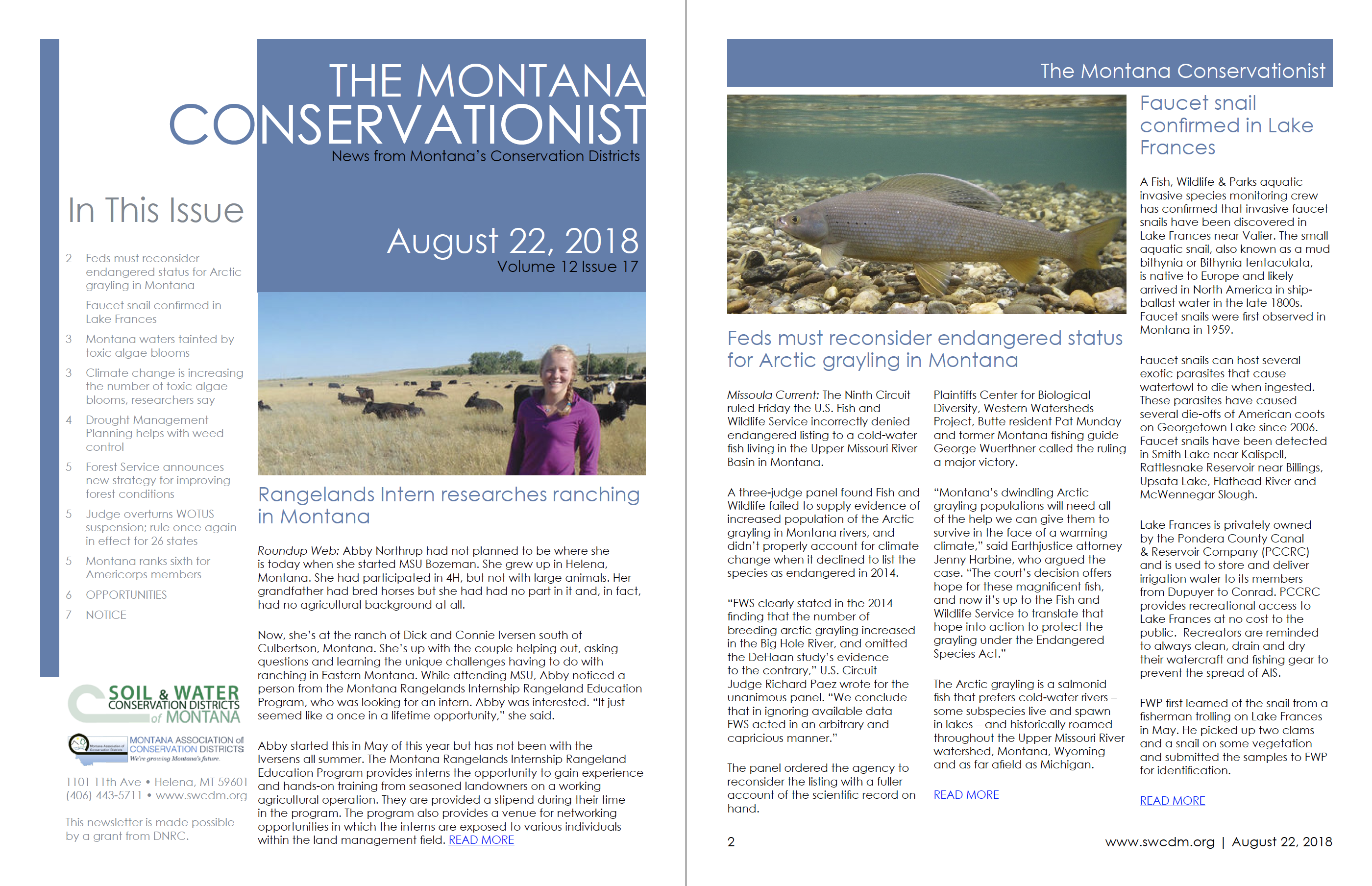 The Montana Conservationist August 22